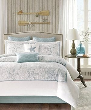 Harbor House 4 Piece Maya Bay Comforter Set Queen White 0 300x360