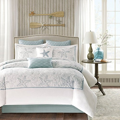 Harbor House 4 Piece Maya Bay Comforter Set Queen White 0