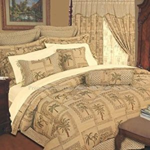 Kinglinen 9 Piece Tapestry Palm Bedding Comforter Set 0 300x300
