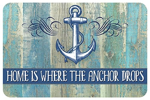 Novelty-Drop-Anchor-Mat-18-x-27-Multicolor-0 Nautical Anchor Decor