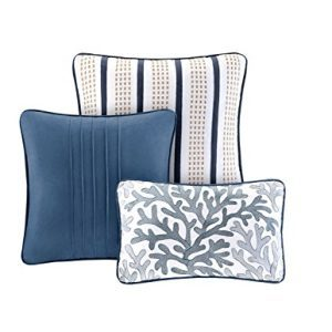 Seashell Beach House Nautical King Quilt Shams Toss Pillows 6 Piece Bedding 0 0 300x300