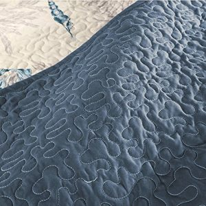 Seashell Beach House Nautical King Quilt Shams Toss Pillows 6 Piece Bedding 0 1 300x300