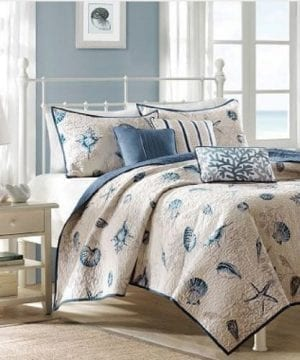 beach-quilt-starfish-set-300x360 50+ Starfish Bedding Sets and Starfish Quilt Sets