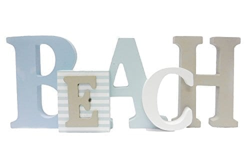 1-X-Beach-Word-Sign-Tropical-Beach-Decor-Great-for-Office-Table-Top-or-Wall-Hanging-125-Long-5-Tall-0 The Best Wooden Beach Signs You Can Buy