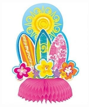6 Honeycomb Hula Girl Luau Party Decorations 4ct 0 0 300x360