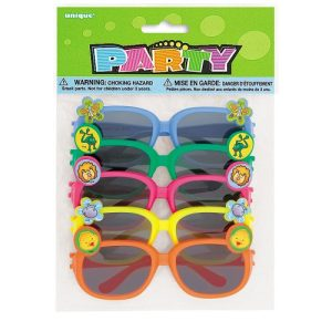 Animal Novelty Sunglasses Assorted 5ct 0 300x300