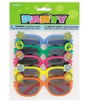 Animal Novelty Sunglasses Assorted 5ct 0 300x360