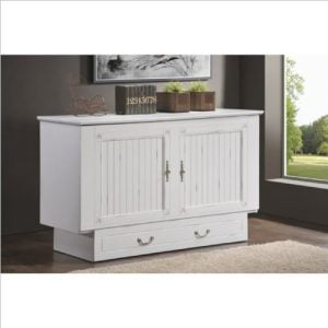 Arason Enterprises Creden ZzZ Queen Cabinet Bed In Cottage White 0 0 300x300