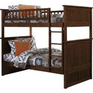 Atlantic Furniture Nantucket Twin Over Twin Bunk Bed 0 300x300