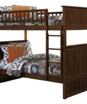 Atlantic Furniture Nantucket Twin Over Twin Bunk Bed 0 300x360