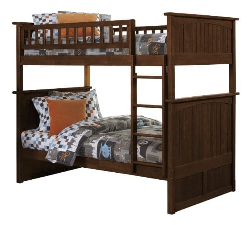 Atlantic Furniture Nantucket Twin Over Twin Bunk Bed 0