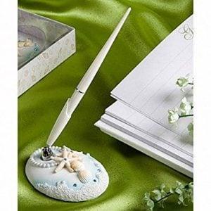 Beach Themed Wedding Guest Pen By Fashioncraft 0 300x300