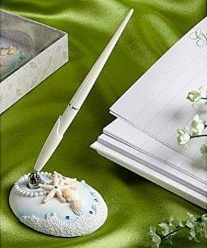 Beach Themed Wedding Guest Pen By Fashioncraft 0 300x360