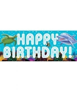 Creative Converting Ocean Party Giant Party Banner 60 Inch 0 300x360