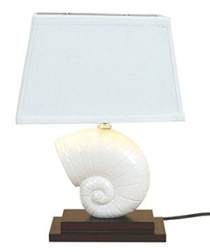DEI-Nautilus-Shell-Lamp-0-300x360 200+ Coastal Themed Lamps