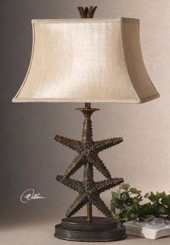 Designer STARFISH Table LAMP Luxury Beach 0 1