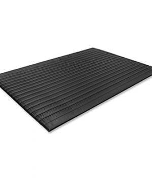 Genuine Joe Anti Fatigue Mat Beveled Edge 2 By 3 Feet Black 0 300x360