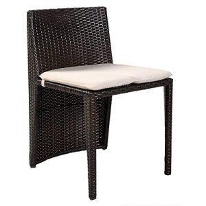 Giantex 3 PCS Cushioned Outdoor Wicker Patio Set Garden Lawn Sofa Furniture Seat Brown 0 1 300x300