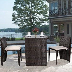 Giantex-3-PCS-Cushioned-Outdoor-Wicker-Patio-Set-Garden-Lawn-Sofa-Furniture-Seat-Brown-0