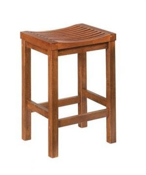 Home Styles Parker 24 In Backless Wood Counter Stool 0 300x360