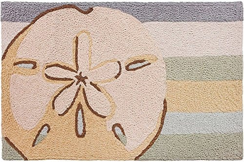 Indoor-Outdoor-Machine-Washable-Rug-Sand-Dollar-21-X-33-0 Beach Rugs and Beach Area Rugs