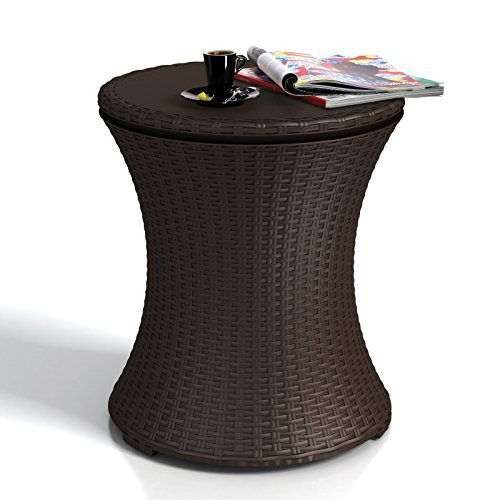 Keter Pacific Cool Bar Rattan Party Cooler 0 0