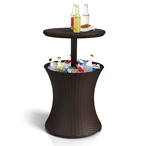 Keter Pacific Cool Bar Rattan Party Cooler 0 2