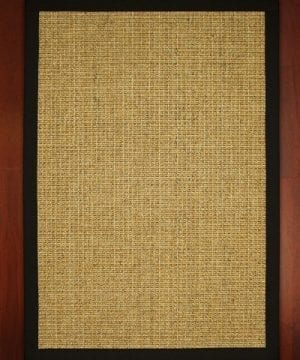 NaturalAreaRugs South Beach Sisal Rug 100 Natural Fiber Eco Friendly Made In USA 0 0 300x360