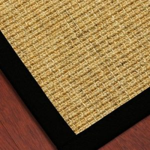 NaturalAreaRugs South Beach Sisal Rug 100 Natural Fiber Eco Friendly Made In USA 0 300x300
