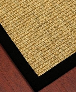 NaturalAreaRugs South Beach Sisal Rug 100 Natural Fiber Eco Friendly Made In USA 0 300x360