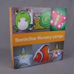 Nursery Lamp Kids Room Light Colorful LED Decorative Lamp Starfish Design 0 1 300x300