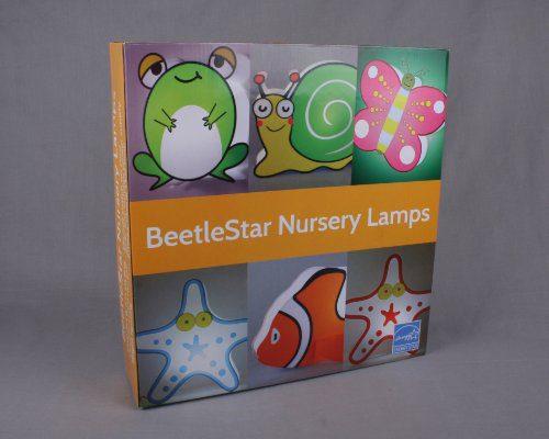 Nursery Lamp Kids Room Light Colorful LED Decorative Lamp Starfish Design 0 1