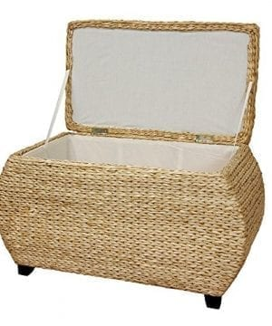 Oriental Furniture Rush Grass Storage Box Natural 0 0 300x360