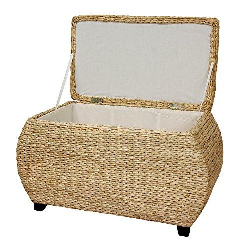 Oriental Furniture Rush Grass Storage Box Natural 0 0