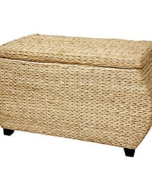 Oriental Furniture Rush Grass Storage Box Natural 0 300x360