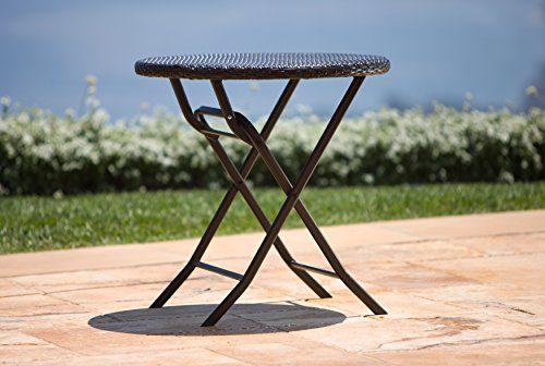 RST Brands Bistro Patio Furniture 3 Piece 0 1