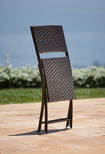 RST Brands Bistro Patio Furniture 3 Piece 0 2