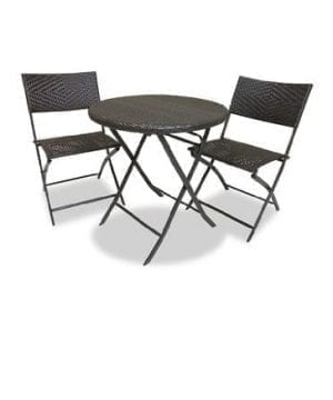 RST Brands Bistro Patio Furniture 3 Piece 0 300x360