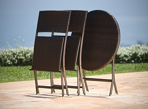 RST Brands Bistro Patio Furniture 3 Piece 0 4