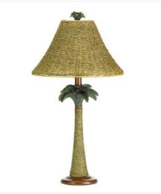 Rattan-Rope-Style-Palm-Tree-Lamp-Light-Tropical-Decor-0-324x389 100+ Coastal Themed Lamps