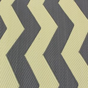 Rv Mat Patio Rug Chevron Pattern 9x12 TanCharcoal 0 0 300x300