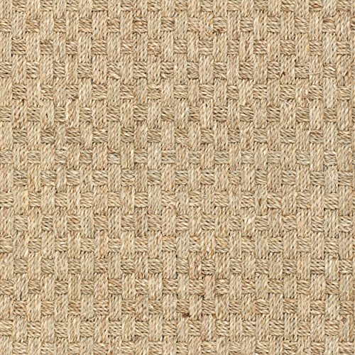 Safavieh Natural Fiber Collection NF114A Handmade Natural And Beige Seagrass Area Rug 2 Feet By 3 Feet 2 X 3 0 1