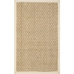 Safavieh Natural Fiber Collection NF114A Handmade Natural And Beige Seagrass Area Rug 2 Feet By 3 Feet 2 X 3 0 300x300