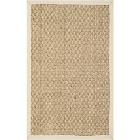 Safavieh-Natural-Fiber-Collection-NF114A-Handmade-Natural-and-Beige-Seagrass-Area-Rug-2-feet-by-3-feet-2-x-3-0-450x450 Beach Rugs and Beach Area Rugs
