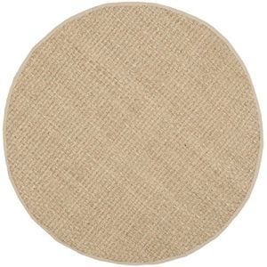 Safavieh Natural Fiber Collection NF114A Handmade Natural And Beige Seagrass Round Area Rug 6 Feet In Diameter 6 Diameter 0 0 300x300