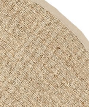 Safavieh Natural Fiber Collection NF114A Handmade Natural And Beige Seagrass Round Area Rug 6 Feet In Diameter 6 Diameter 0 1 300x360