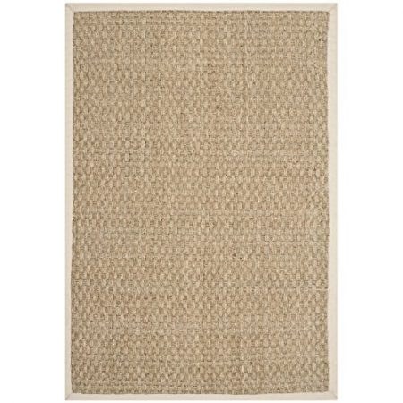 Safavieh-Natural-Fiber-Collection-NF114J-Handmade-Natural-and-Ivory-Seagrass-Area-Rug-2-feet-by-3-feet-2-x-3-0-450x450 Beach Rugs and Beach Area Rugs