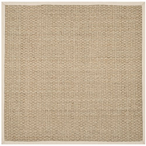 Safavieh Natural Fiber Ivory Seagrass Square Area Rug