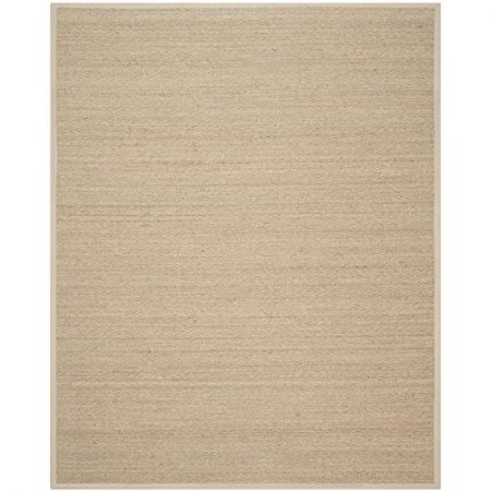 Safavieh-Natural-Fiber-Collection-NF115A-Handmade-Natural-and-Beige-Seagrass-Area-Rug-8-feet-by-10-feet-8-x-10-0-450x450 Beach Rugs and Beach Area Rugs