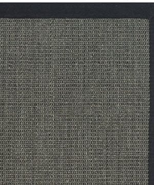 Safavieh Natural Fiber Collection NF441D Handmade Charcoal And Charcoal Sisal Area Rug 2 Feet 6 Inches By 4 Feet 26 X 4 0 0 300x360